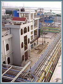 indian chemical processing plant, indian wastewater treatment plant, chemical processing plant